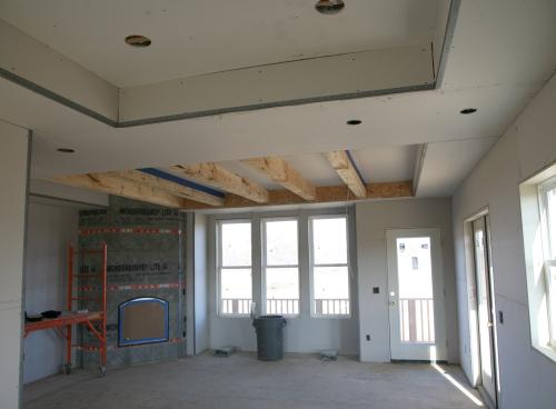 living dining beams